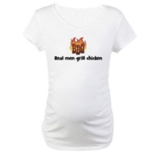 BBQ Fire: Real men grill chic Shirt