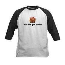 BBQ Fire: Real men grill chic Tee