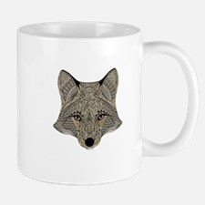 Metallic fox 3d digital art Mugs