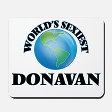 World's Sexiest Donavan Mousepad