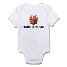 BBQ Fire: Queen of the Grill Infant Bodysuit