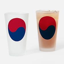 Taegeuk Symbol Drinking Glass