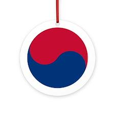 Taegeuk Symbol Ornament (Round)