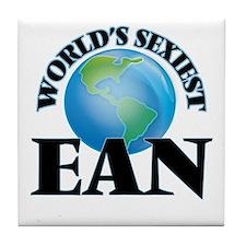 World's Sexiest Ean Tile Coaster