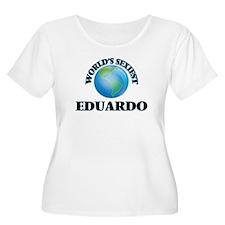 World's Sexiest Eduardo Plus Size T-Shirt