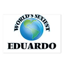 World's Sexiest Eduardo Postcards (Package of 8)