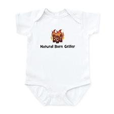 BBQ Fire: Natural Born Grille Infant Bodysuit