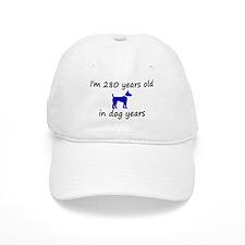 40 dog years blue dog 2 Baseball Baseball Cap