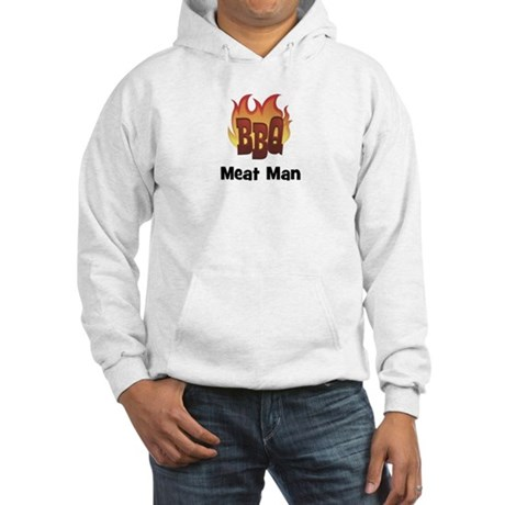 BBQ Fire: Meat Man Hooded Sweatshirt