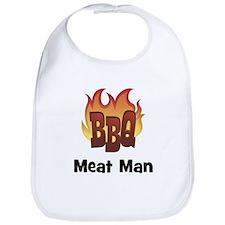 BBQ Fire: Meat Man Bib