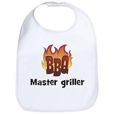 BBQ Fire: Master griller Bib