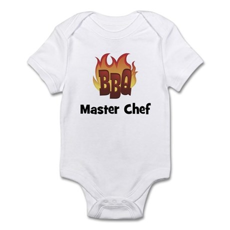 BBQ Fire: Master Chef Infant Bodysuit
