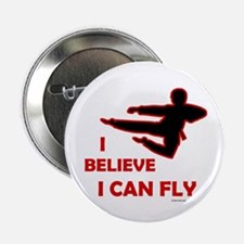 I Believe I Can Fly (Male) Button