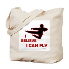 I Believe I Can Fly (Male) Tote Bag