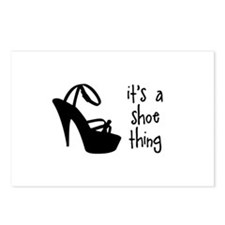 Shoe Thing Postcards (Package of 8)
