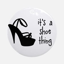 Shoe Thing Ornament (Round)