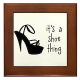 High heels Framed Tiles