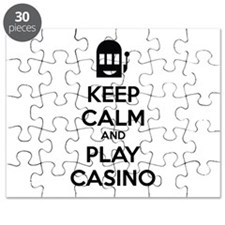 Keep Calm And Play Casino Puzzle