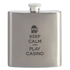 Keep Calm And Play Casino Flask