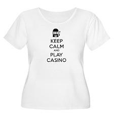 Keep Calm And Play Casino T-Shirt