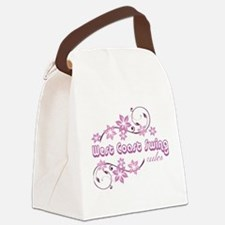 West Coast Swing Rules Canvas Lunch Bag