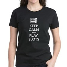 Keep Calm And Play Slots Tee