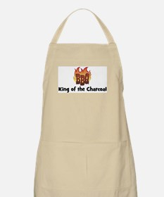 BBQ Fire: King of the Charcoa BBQ Apron