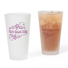 West Coast Swing Rules Drinking Glass