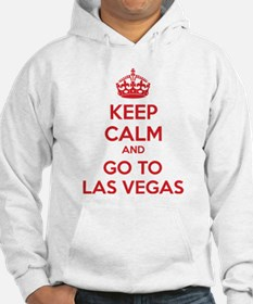 Keep Calm And Go To Las Vegas Hoodie
