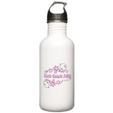 West Coast Swing Rules Water Bottle