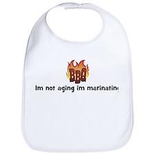 BBQ Fire: Im not aging im mar Bib