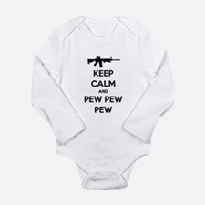 Keep Calm and Pew Pew Pew AR15 Body Suit