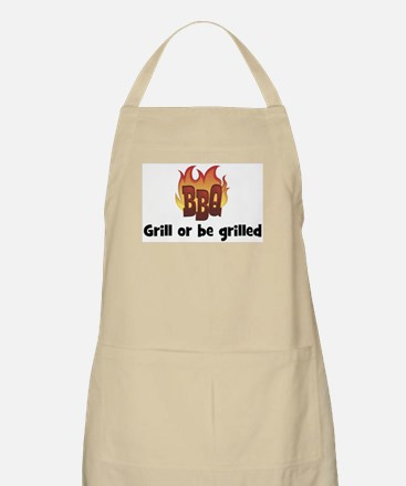 BBQ Fire: Grill or be grilled BBQ Apron