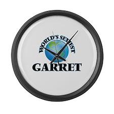 World's Sexiest Garret Large Wall Clock
