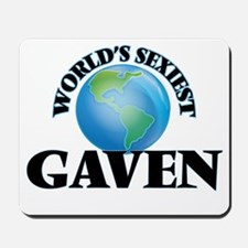 World's Sexiest Gaven Mousepad