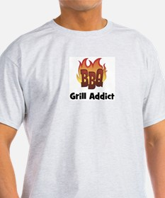 BBQ Fire: Grill Addict T-Shirt