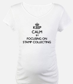 Keep Calm by focusing on Stamp C Shirt