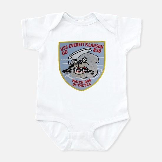 USS EVERETT F. LARSON Infant Bodysuit
