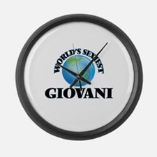 World's Sexiest Giovani Large Wall Clock