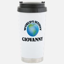 World's Sexiest Giovann Stainless Steel Travel Mug