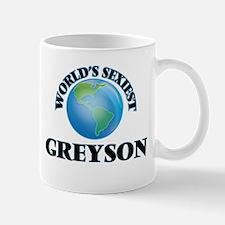 World's Sexiest Greyson Mugs