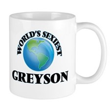 World's Sexiest Greyson Mugs