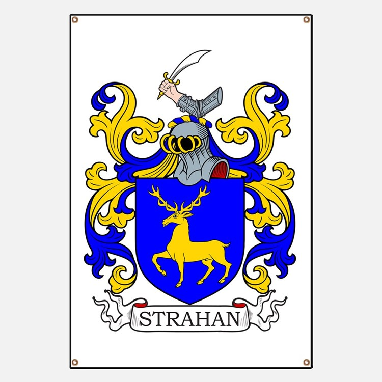 Strahan Coat of Arms Banner