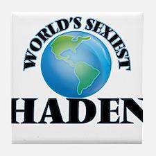 World's Sexiest Haden Tile Coaster