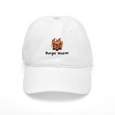 BBQ Fire: Burger Master Baseball Cap