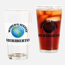 World's Sexiest Heriberto Drinking Glass