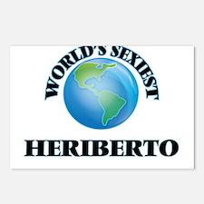 World's Sexiest Heriberto Postcards (Package of 8)