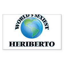 World's Sexiest Heriberto Decal