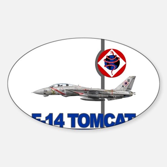 VF-102 DIAMONDBACKS Rectangle Decal