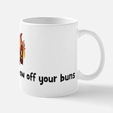 BBQ Fire: BBQ Naked and show  Mug